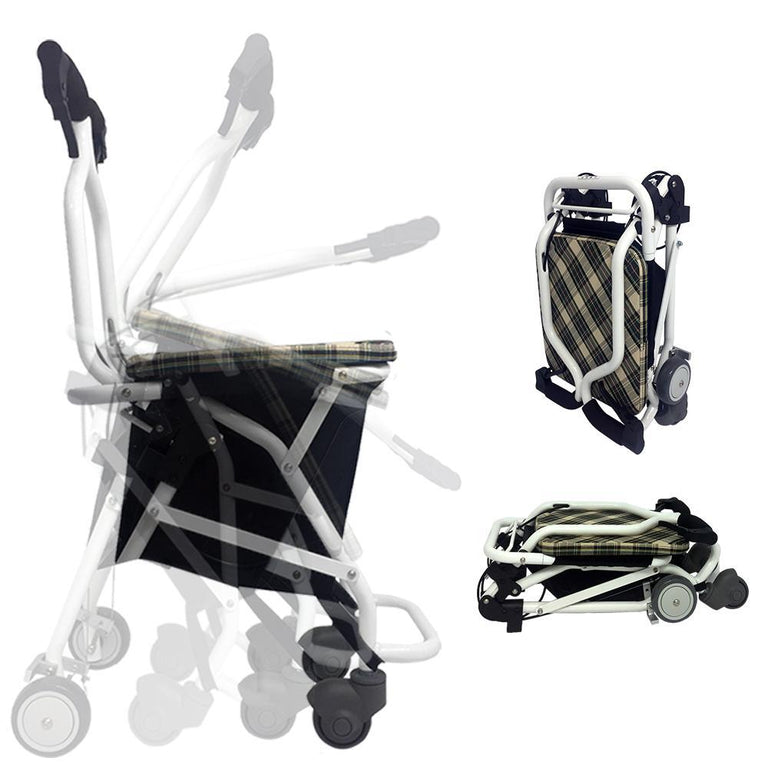 Sanction Super Lightweight Folding Transit Travel Wheelchair TR-01 - Sanction Industry Co., Ltd.