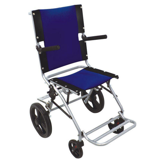 Sanction Super Lightweight Folding Transit Travel Wheelchair TR-03 - Sanction Industry Co., Ltd.