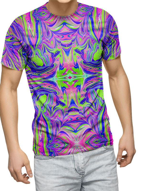 Trippy printed t-shirts