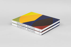 Marina Adams artist catalogue, published by Salon 94, designed by Pacific Books