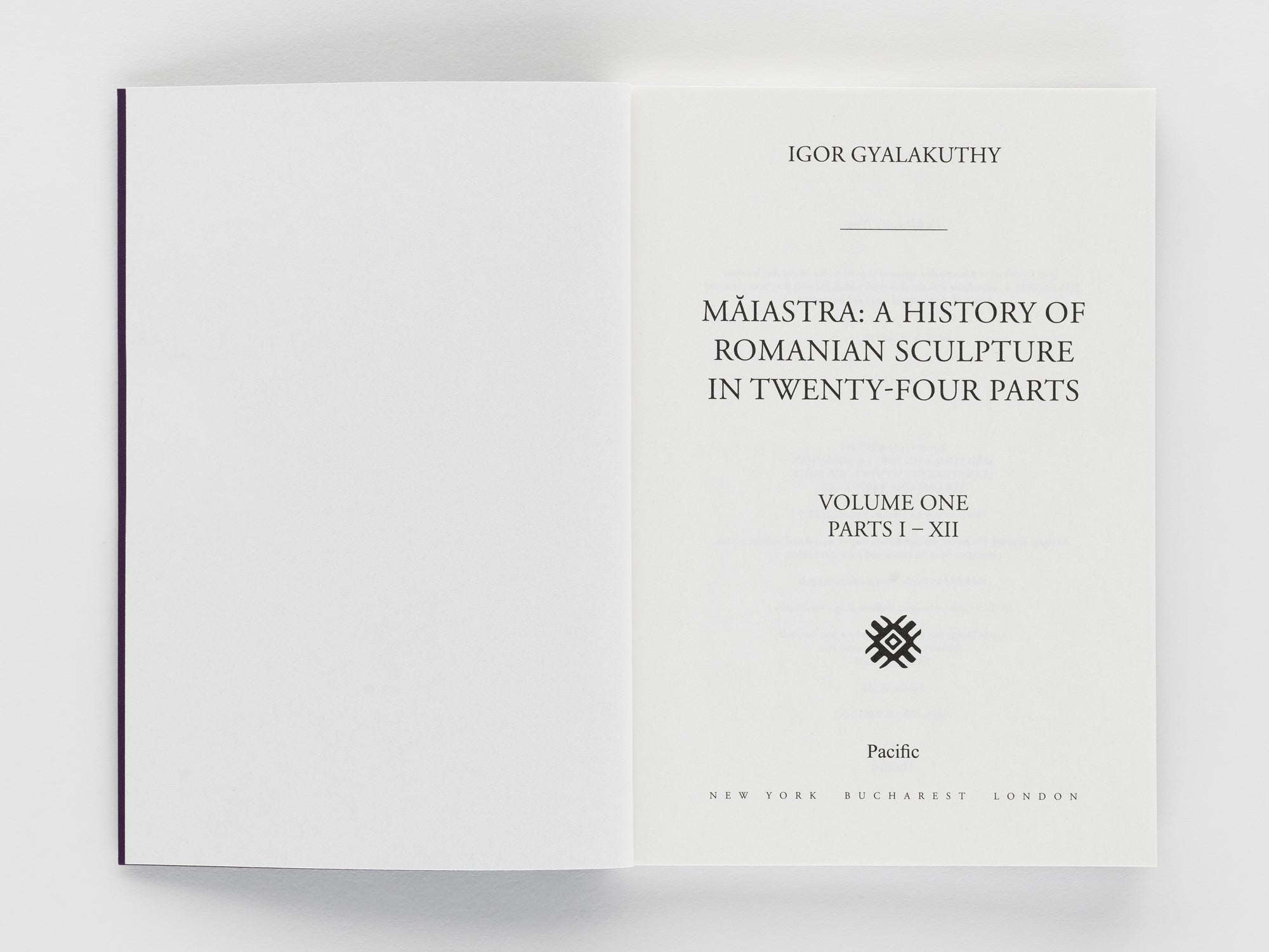Maiastra: A History of Romanian  Sculpture in Twenty-Four Parts