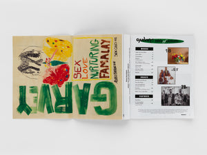Garvey! Magazine by Alvaro Barrington, published by Sadie Coles HQ