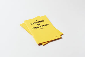 A Handbook of Drug Terms, Published by Pacific