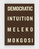 Democratic Intuition