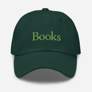 "2021 Spring Forest Green ""Books"" Hat"