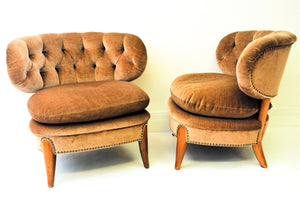 A pair of Easy Chairs, Otto Schulz