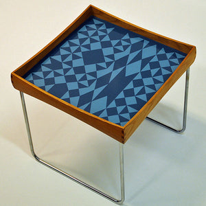 Norwegian midcentury Conform Table 1962 with Enamel Top by Hermann Bongard