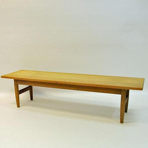 Biri bench of pine by Harry Moen, Bruksbo 1960s- Norway