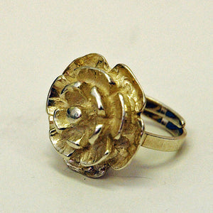 Silver Flower ring Sweden 1975