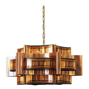 Danish Copper ceiling lamp by Holm Sørensen 1960s