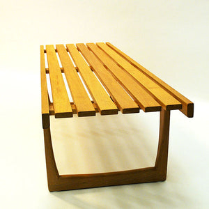 Midcentury Tokyo oak bench/table by Yngvar Sandström for NK 1964- Sweden
