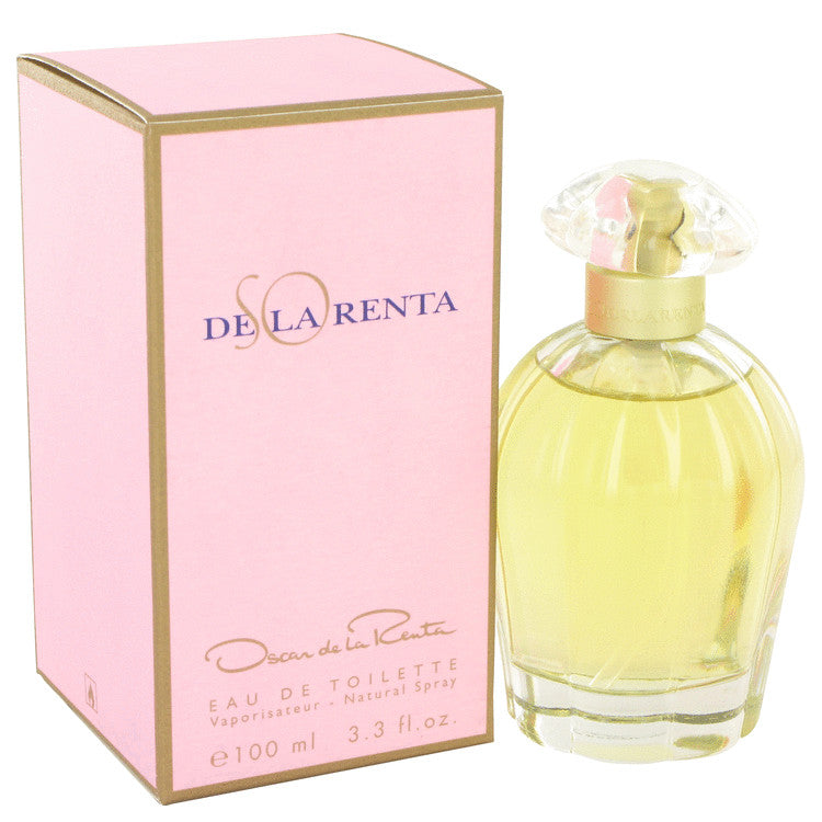 SO DE LA RENTA by Oscar de la Renta Eau De Toilette Spray 3.4 oz for Women