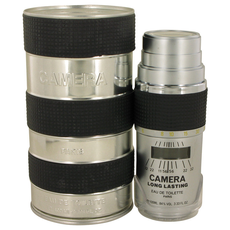 CAMERA LONG LASTING by Max Deville Eau De Toilette Spray (Metal Packaging) 3.4 oz for Men