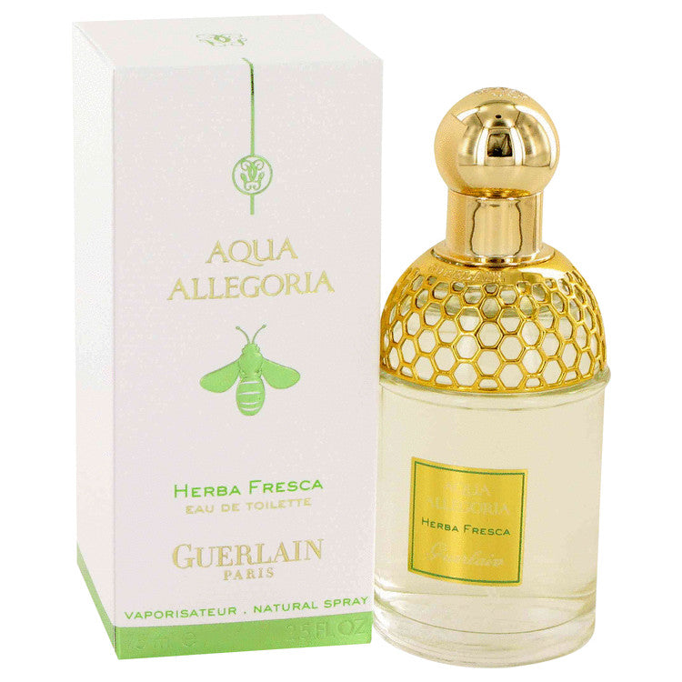 AQUA ALLEGORIA HERBA FRESCA by Guerlain Eau De Toilette Spray (Unisex) 2.5 oz for Women