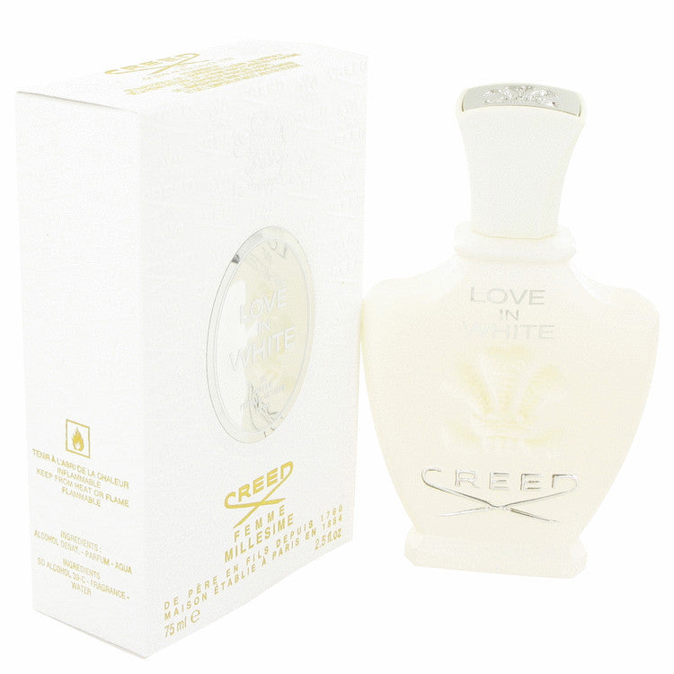 Love in White by Creed Millesime Eau De Parfum Spray 2.5 oz for Women