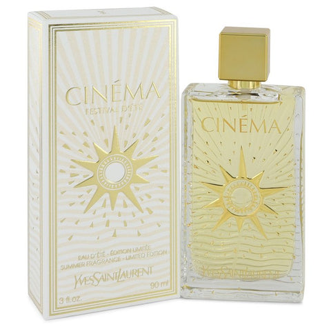 Cinema by Yves Saint Laurent Summer Fragrance Eau D'Ete Spray 3 oz for Women