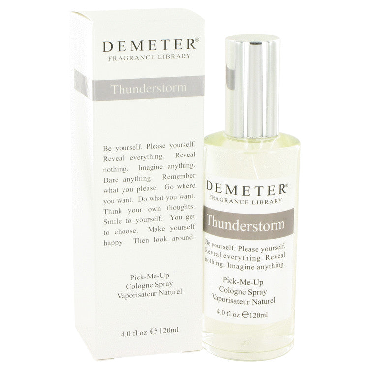 Demeter Thunderstorm by Demeter Cologne Spray 4 oz for Women