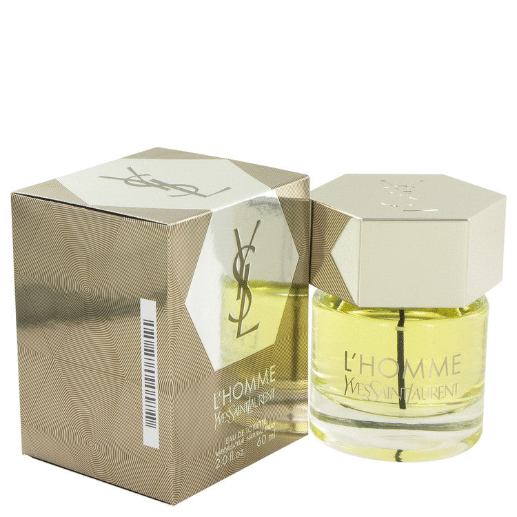 L'homme by Yves Saint Laurent Eau De Toilette Spray 2 oz for Men
