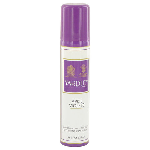 April Violets by Yardley London Body Spray 2.6 oz for Women