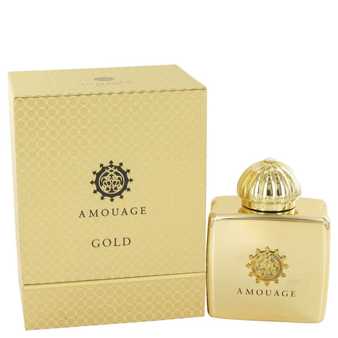 Amouage Gold by Amouage Eau De Parfum Spray 3.4 oz for Women