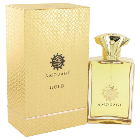 Amouage Gold by Amouage Eau De Parfum Spray 3.4 oz for Men