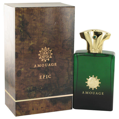 Amouage Epic by Amouage Eau De Parfum Spray 3.4 oz for Men