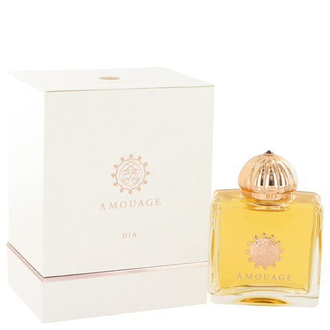 Amouage Dia by Amouage Eau De Parfum Spray 3.4 oz for Women