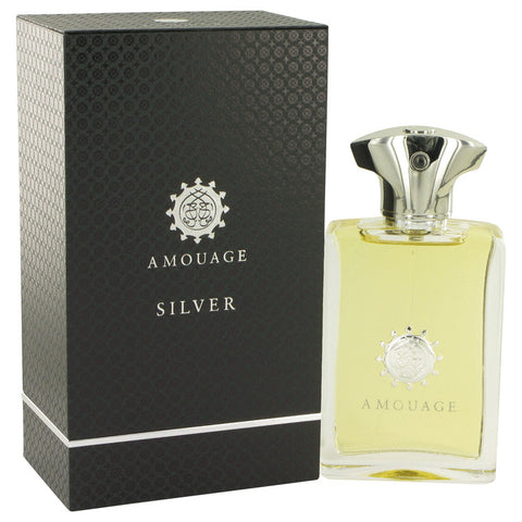 Amouage Silver by Amouage Eau De Parfum Spray 3.4 oz for Men