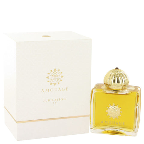 Amouage Jubilation 25 by Amouage Eau De Parfum Spray 3.4 oz for Women