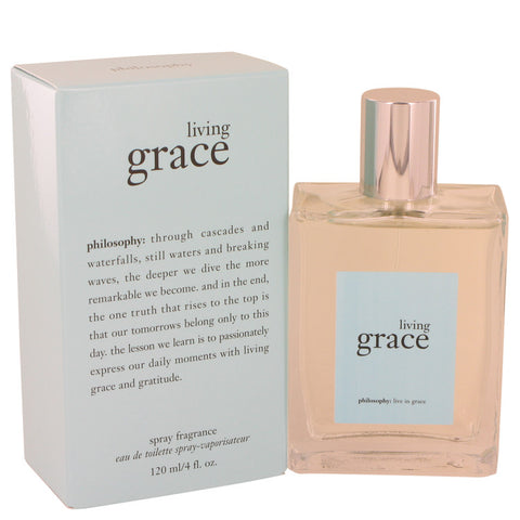 Living Grace by Philosophy Eau De Toilette Spray 4 oz for Women
