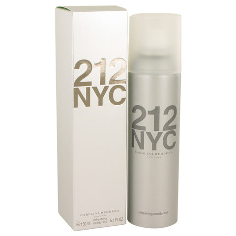 212 by Carolina Herrera Deodorant Spray 5.1 oz for Women