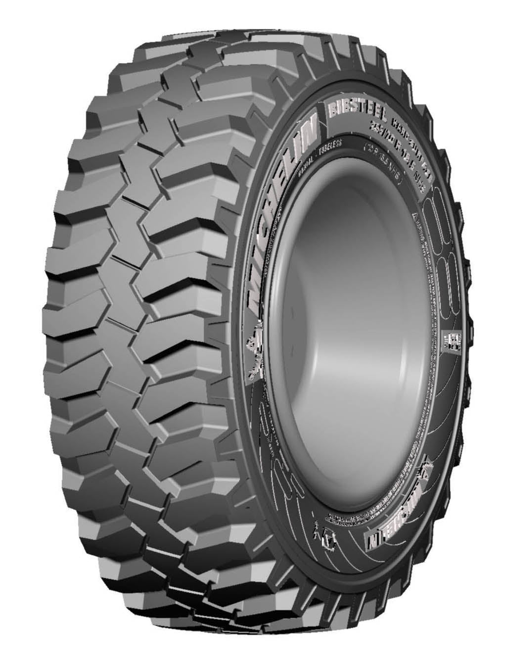 Llanta 500/70R24 BIBSTEEL HARD SURFACE