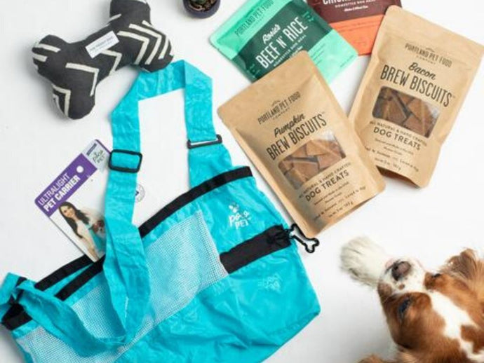 Win eco-friendly essentials for your favorite furry co-worker!