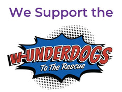 Our New Charity Partner: The W-Underdogs Rescue
