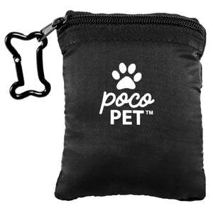 PocoPet ultralight portable best small dog carrier - black
