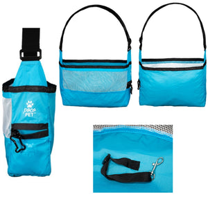 PocoPet best small dog carrier - blue