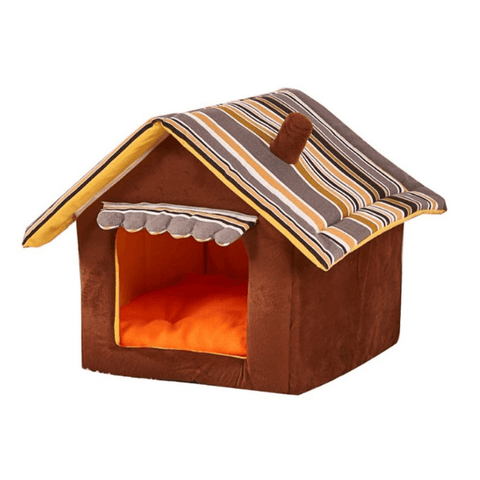 Image of dog indoor house bed