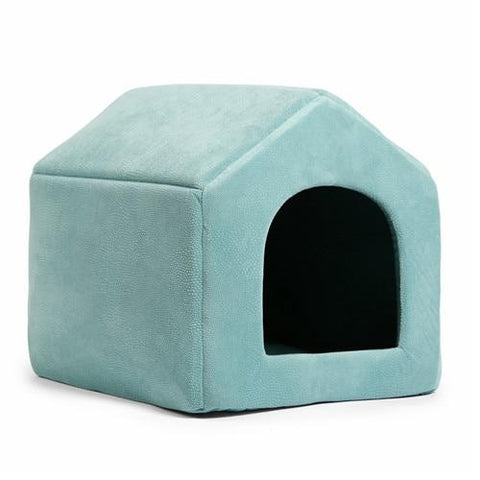 Image of Green 1 in 1 dog house bed