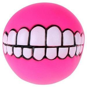 Funny Teeth Dog Fetch Ball