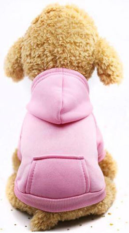 Image of Pink hoodie dog sweater