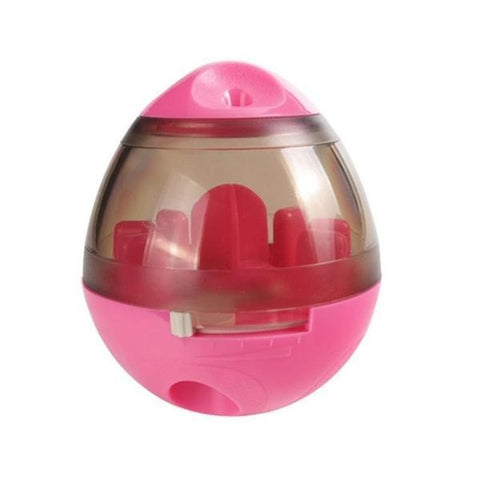 Image of pink dog toy iq ball
