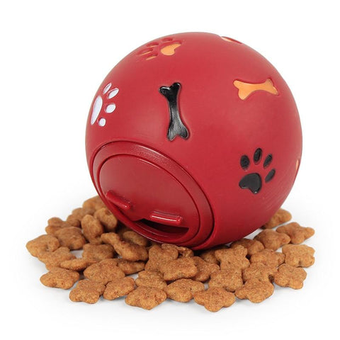 Interactive Rubber Ball Chew Dispenser-Mookie & Baby