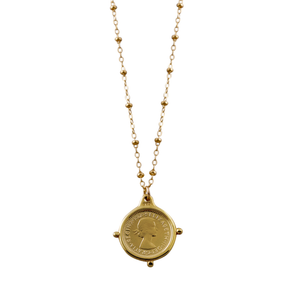 Rosario Necklace With Threepence
