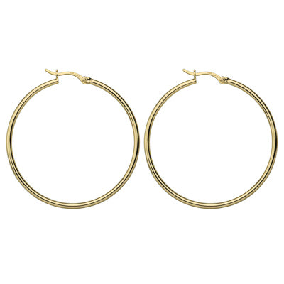 Simple Hoop 2x45mm Yellow