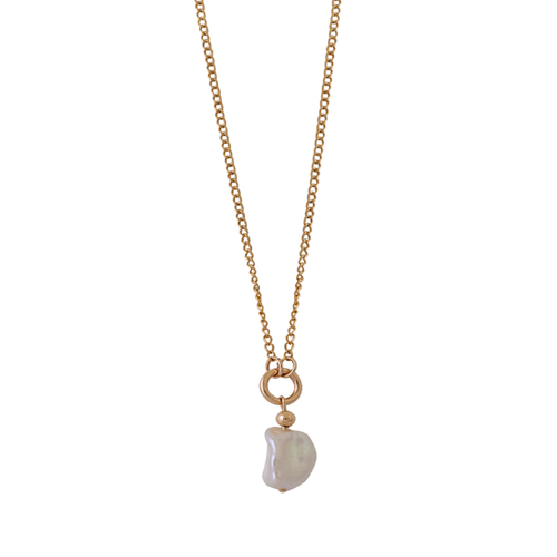 Fine Keshi Pearl Necklace