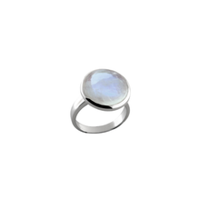 Load image into Gallery viewer, Moonstone Dome Ring