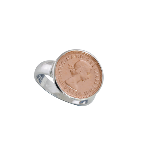 Threepence Coin Ring