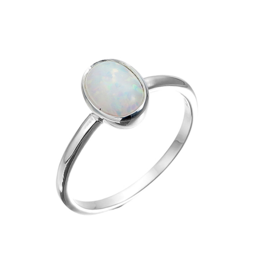 Large Oval Czelline Opal Ring