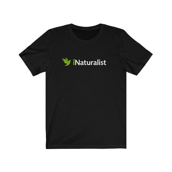 iNaturalist + Bird Logo Unisex T-Shirt (black or white)