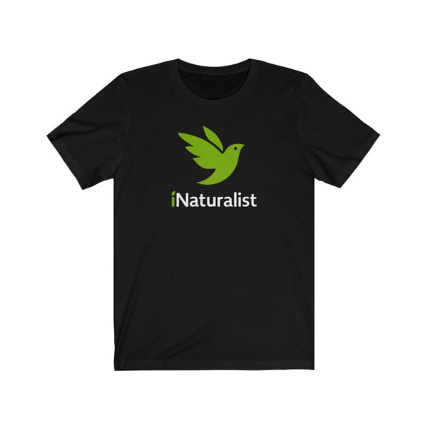 iNaturalist Bird Unisex T-shirt (black)